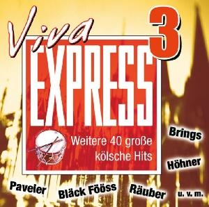 diverse Interpreten - Viva Express 3 - Weitere 40 große kölsche Hits