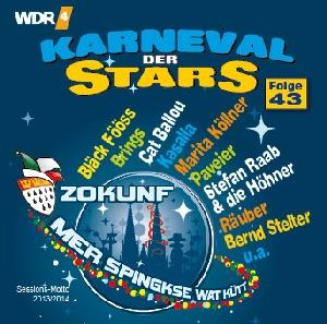 diverse Interpreten - Karneval der Stars 43