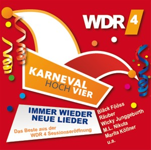 diverse Interpreten - Karneval Hoch Vier - Immer wieder neue Lieder