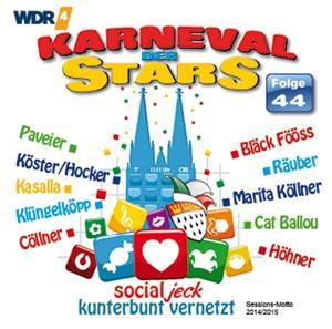 diverse Interpreten - Karneval der Stars 44