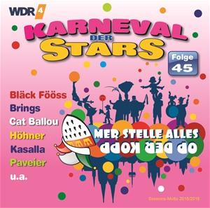 diverse Interpreten - Karneval der Stars 45