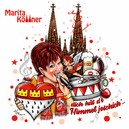 Marita Köllner - Dich  hät d'r Himmel jeschick' - 0