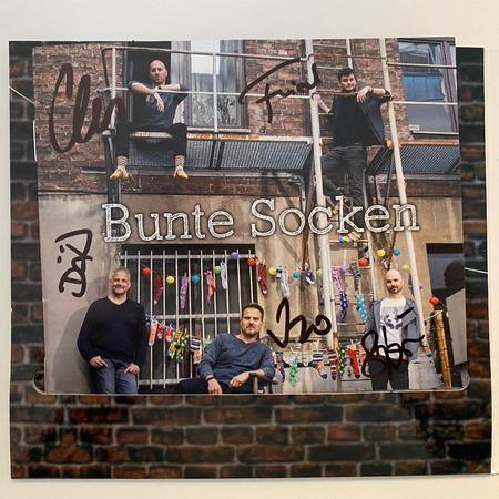 Alte Bekannte - Bunte Socken (Signierte CD) - 0